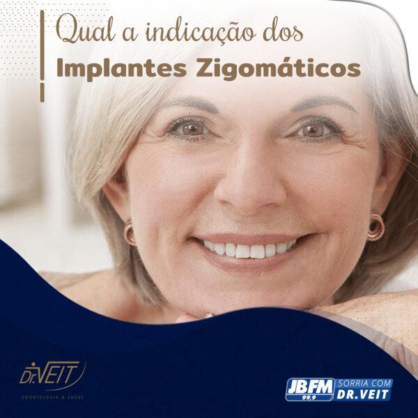Qual a indicação dos implantes zigomáticos?