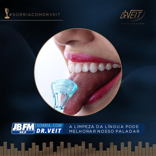 A limpeza da língua pode melhorar nosso paladar