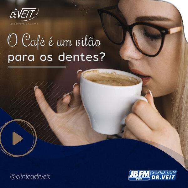 Café faz mal aos dentes?