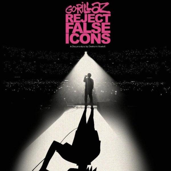 Reject False Icons, novo documentário do Gorillaz será exibido apenas uma noite nos cinemas.