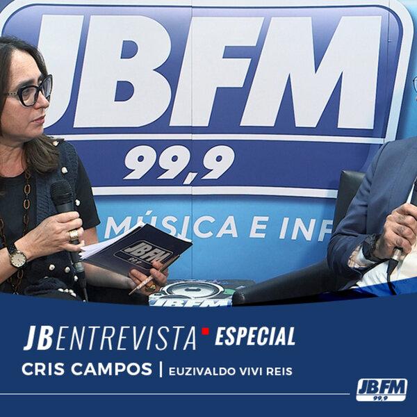Cristiane Campos entrevista Euzivaldo Vivi Reis
