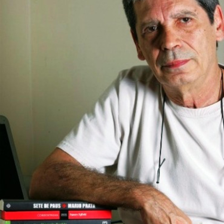 Márcia Peltier conversa com o escritor e jornalista Mário Prata