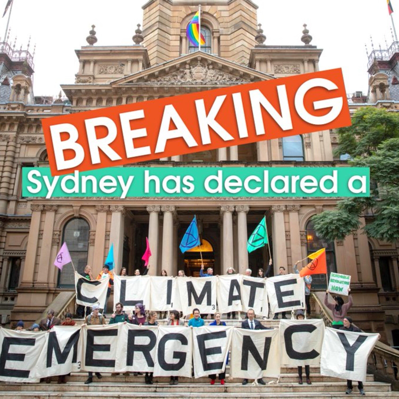 Rapid Reaction — City of Sydney Climate Emergency Declaration