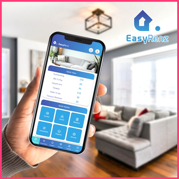 EasyRenz专项服务提供商,租房后勤工作由科技代理