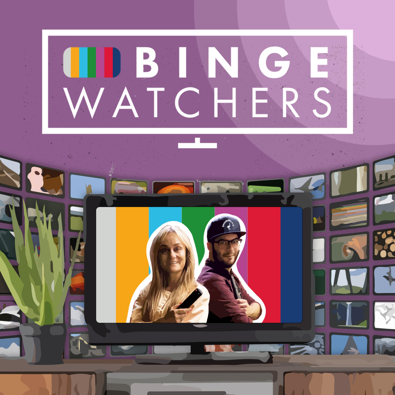 Bingewatchers, de podcast over series logo