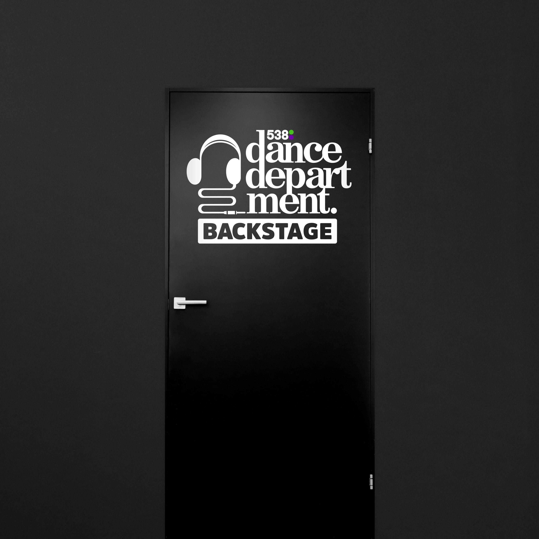 538 Dance Department Backstage logo