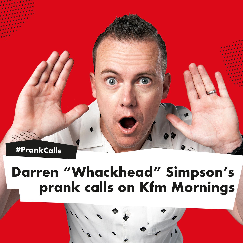 Darren's pranks on Kfm Mornings