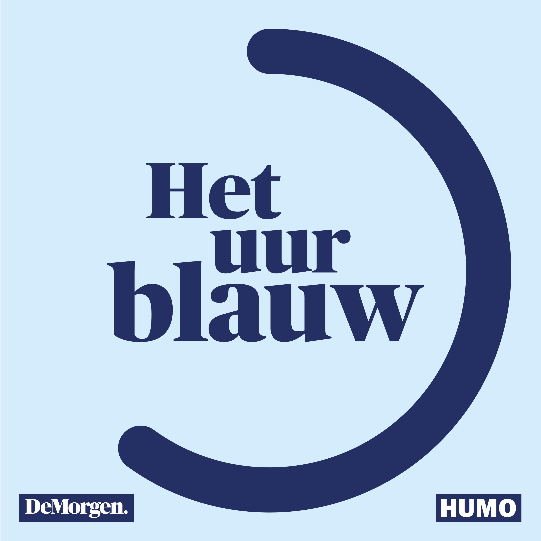 Het uur blauw logo