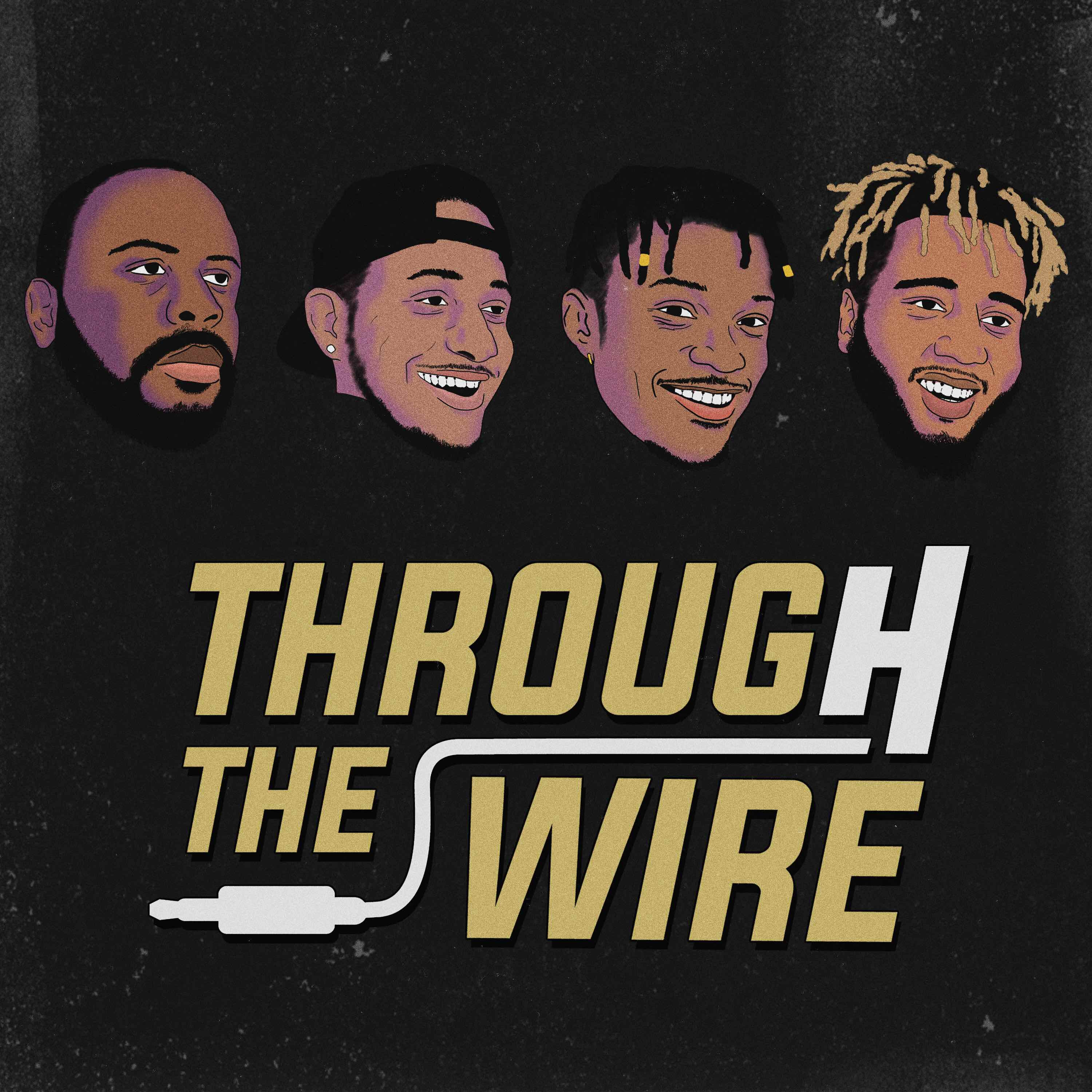 Best Moments From NBA Players In The Bubble Through The Wire Podcast