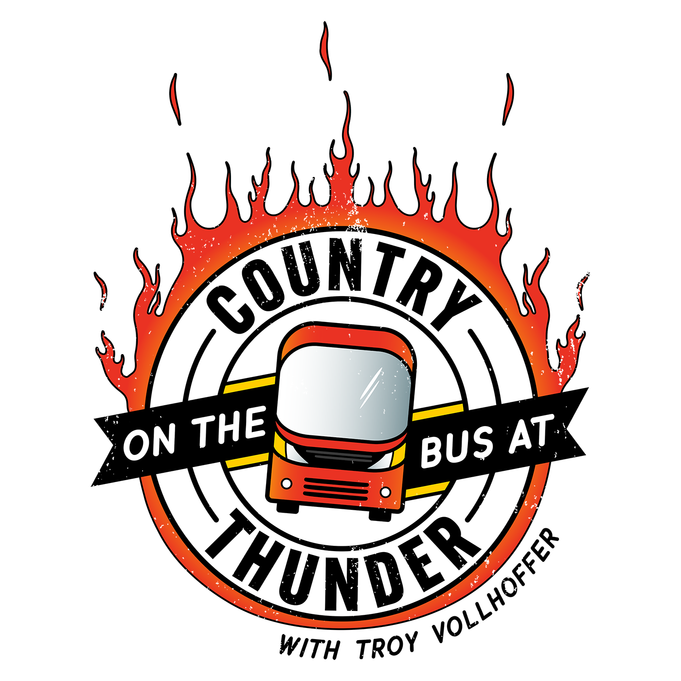 On the Bus at Country Thunder