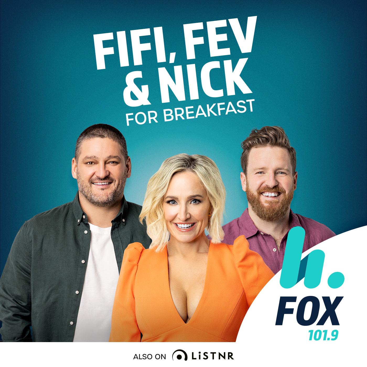 The Fifi, Fev & Byron Catch Up – 101.9 Fox FM Melbourne - Fifi Box, Brendan Fevola & Byron Cooke