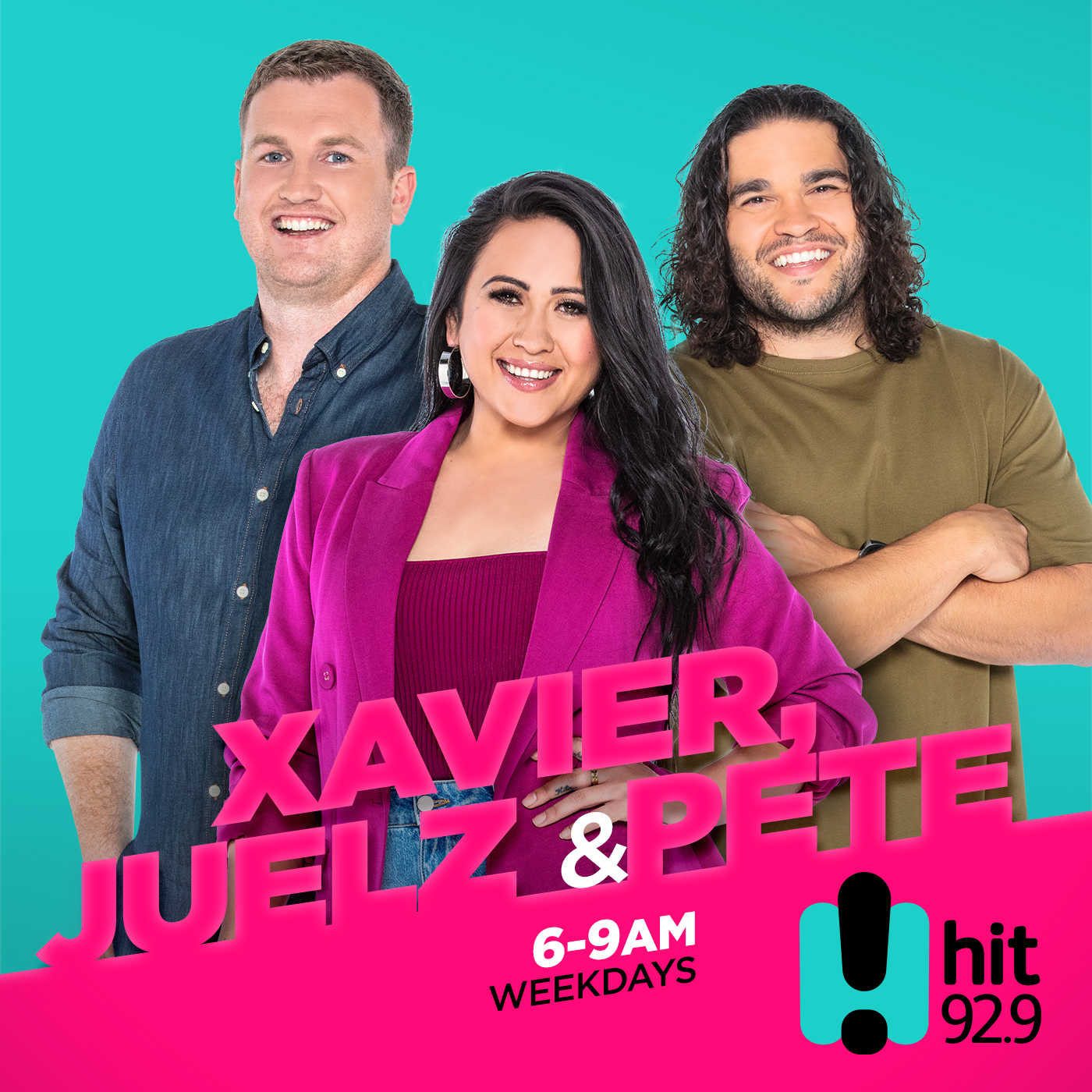Heidi, Xavier & Ryan Catch Up - hit92.9 Perth