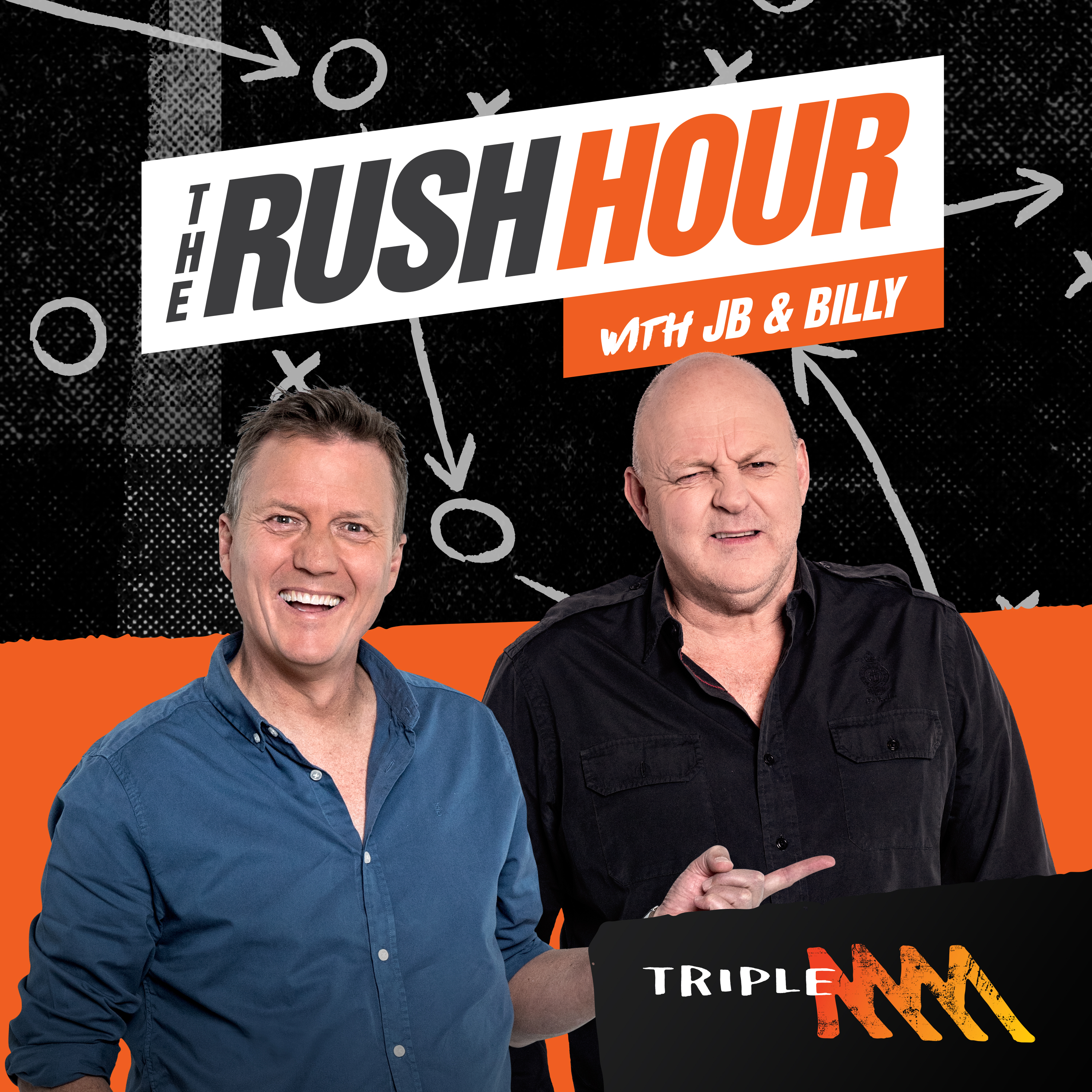 Browny has noticed something about Melbourne, Billy's most horrific quiz ever, Mark Howard - The Rush Hour Catch Up podcast - Wednesday 19th September 2018