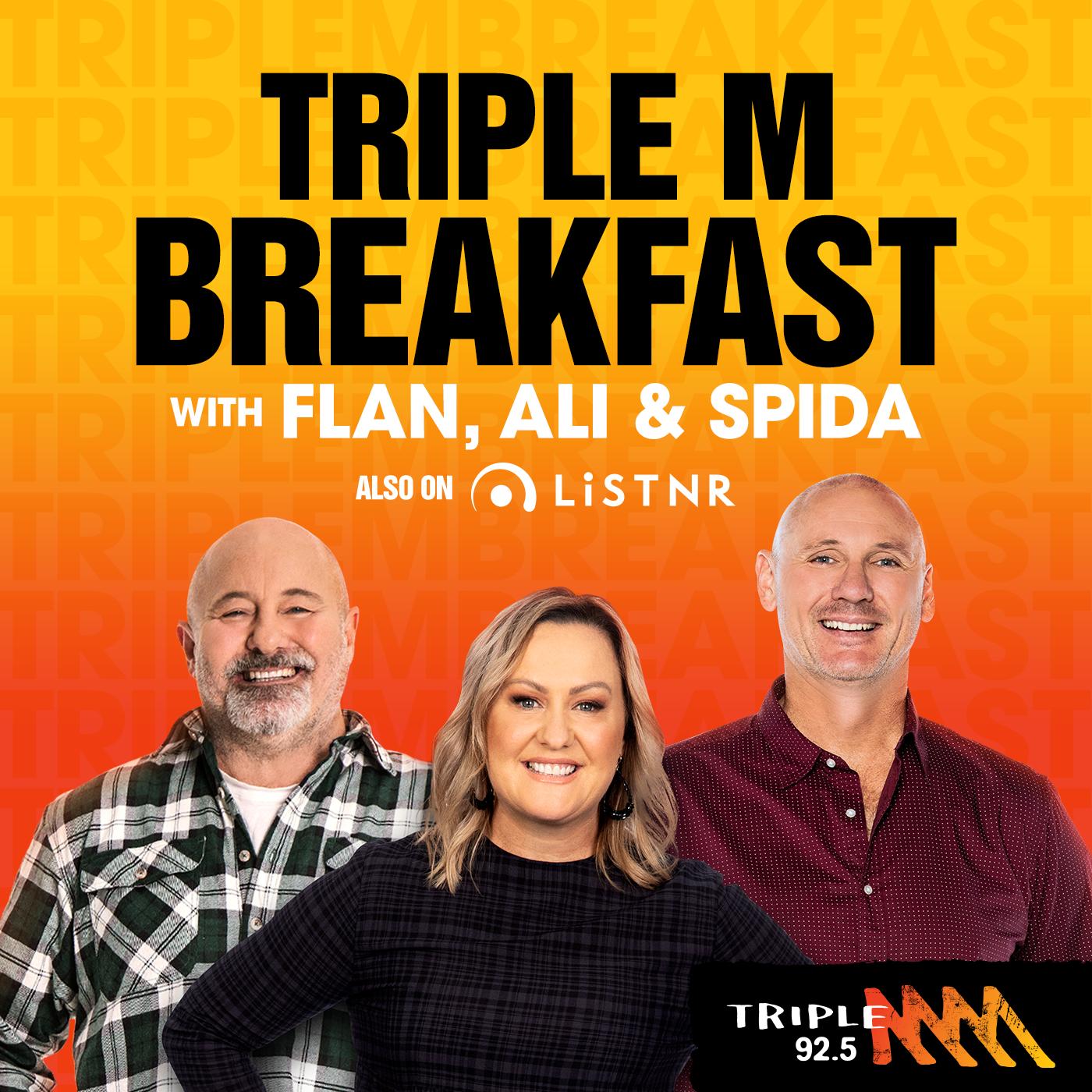 AJ, Bridge and Spida - Gold FM 92.5 Gold Coast