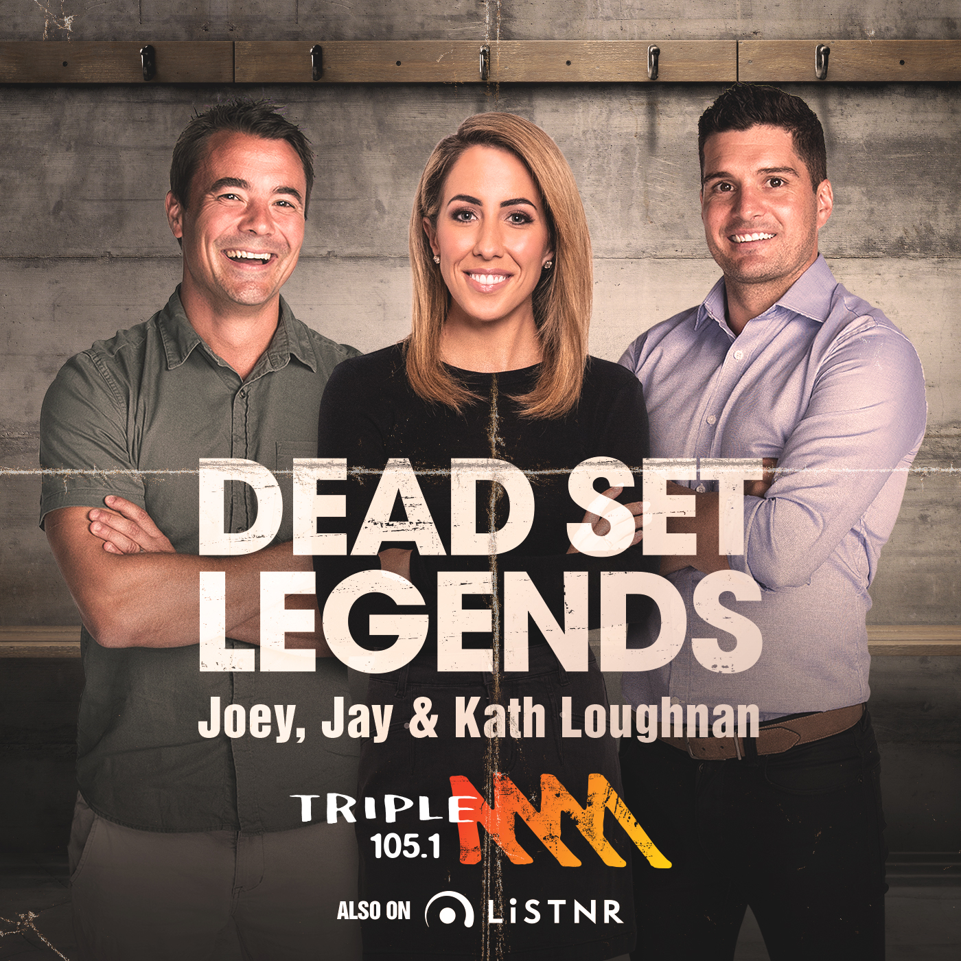 OLD - Do not use - The Dead Set Legends Melbourne Catch Up - 105.1 Triple M Melbourne - OLD