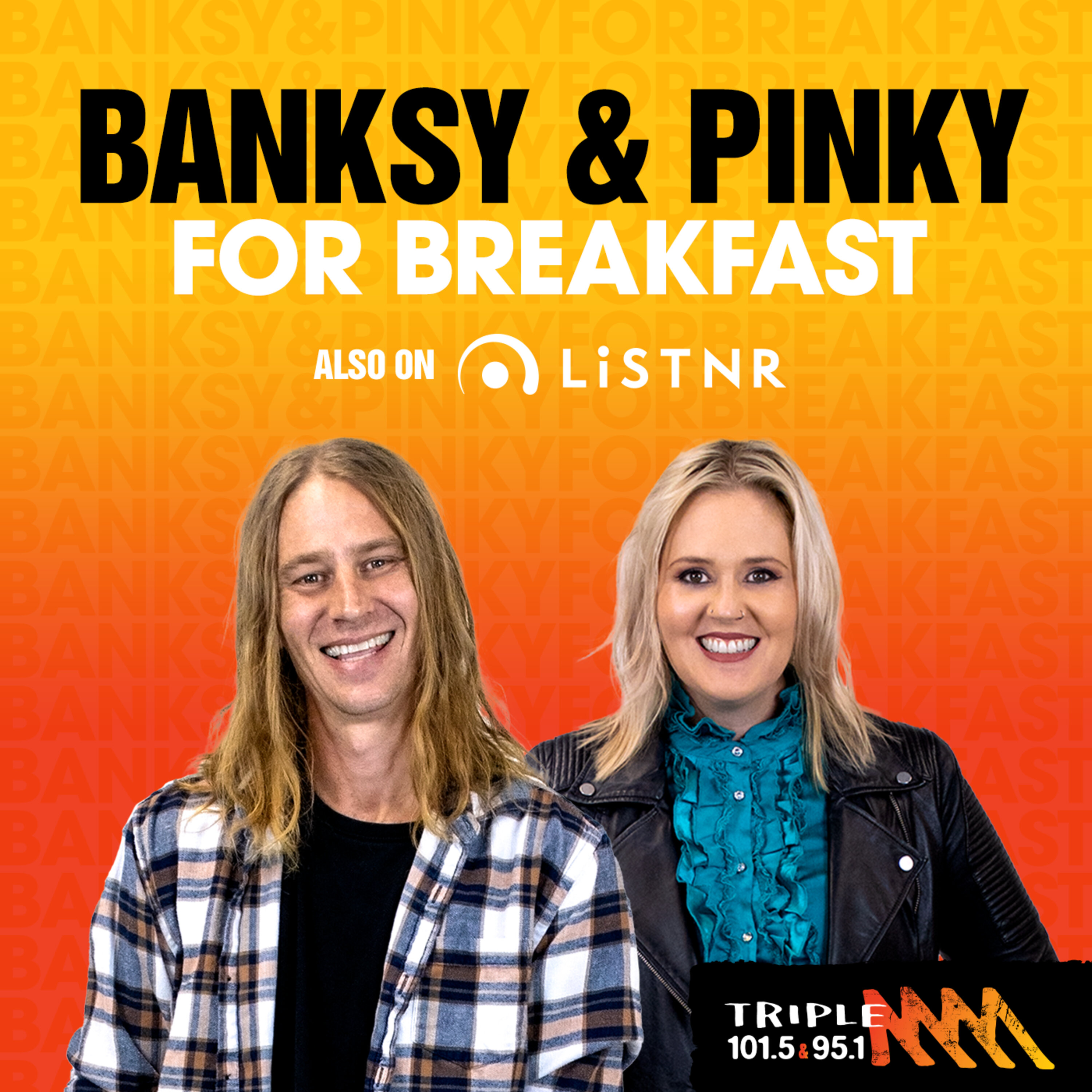 Banksy and Pinky - Triple M Central Queensland
