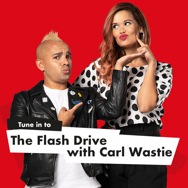 Two Asteroids Flash by the Drive Show