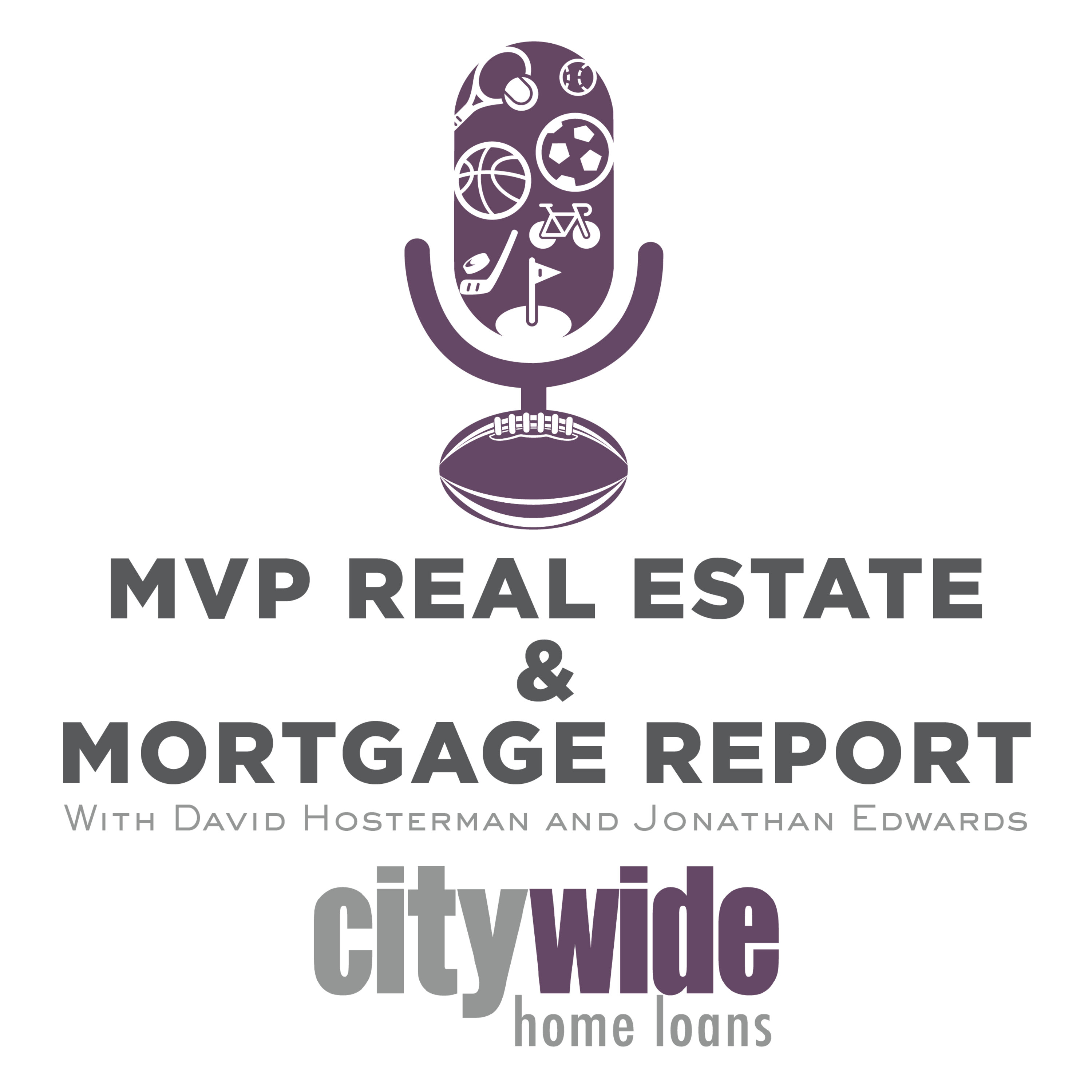 MVP Real Estate and Mortgage Report Podcast Cover Image