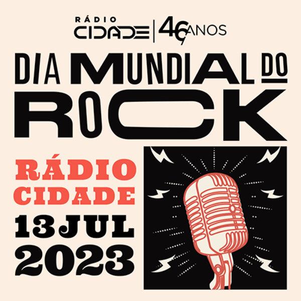 Dia Mundial do Rock - A Vez do Brasil (Edição Especial): Paulo Lopez, Mateus Simões e  Felipe Rodarte.