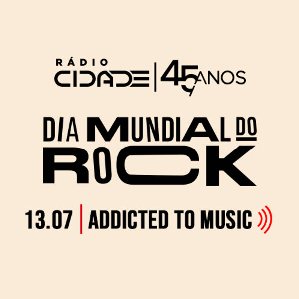 Dia Mundial do Rock  - Rock Fã Clube