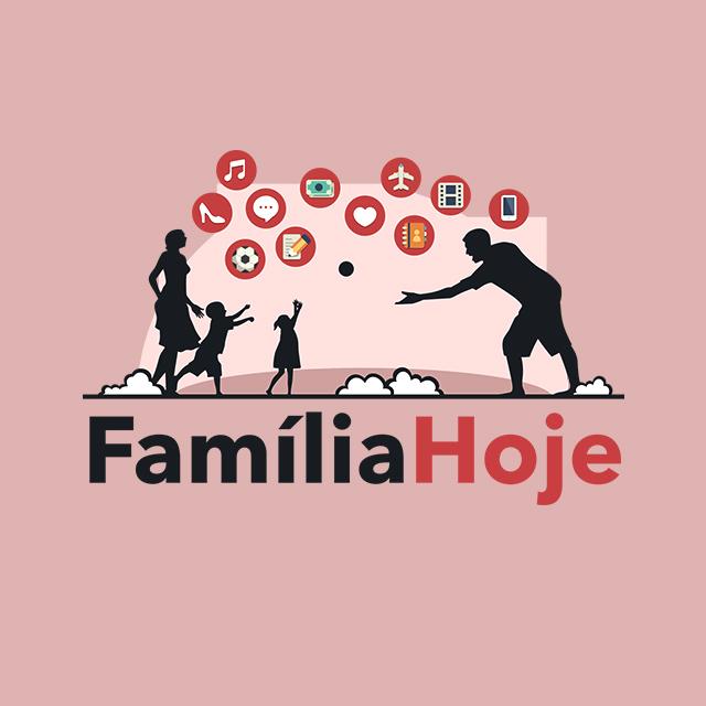 Logo do programa Família Hoje