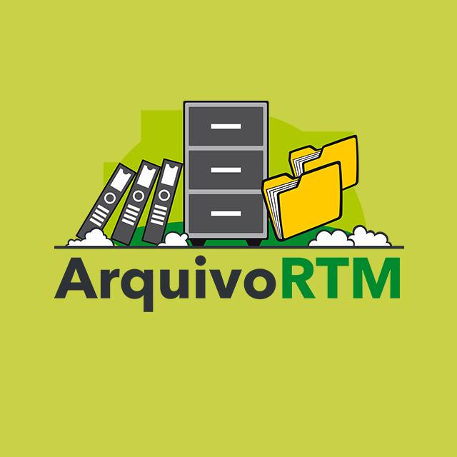 Logo do programa Arquivo RTM