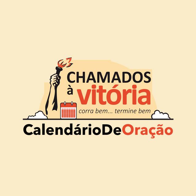 Logo do programa Calendário de Oração - Chamados à Vitória