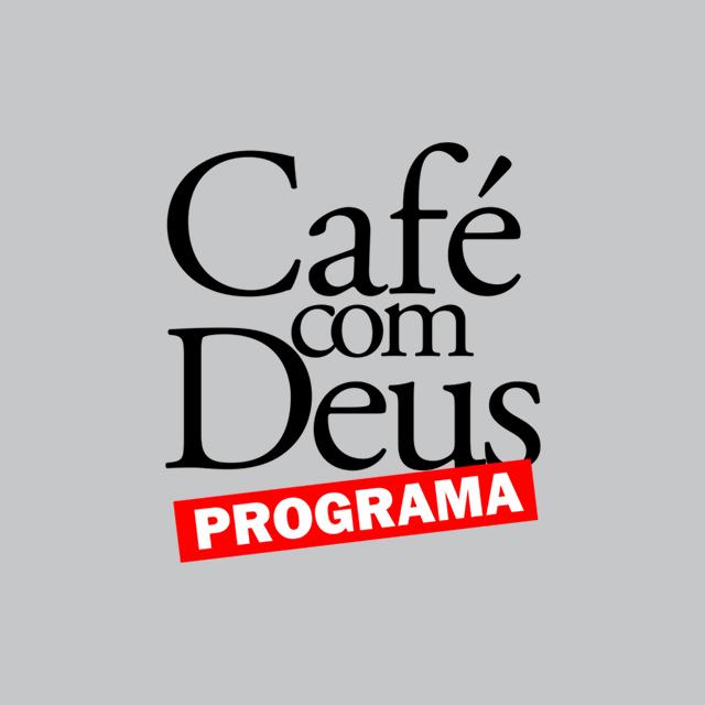 Logo do programa Café com Deus
